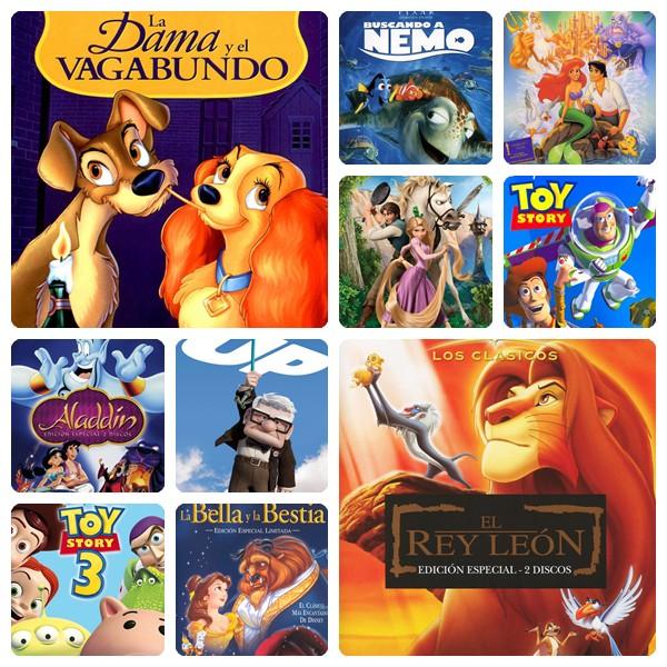 Las 10 Películas Disney Que Han Marcado El Cine Infantil Pequeocio