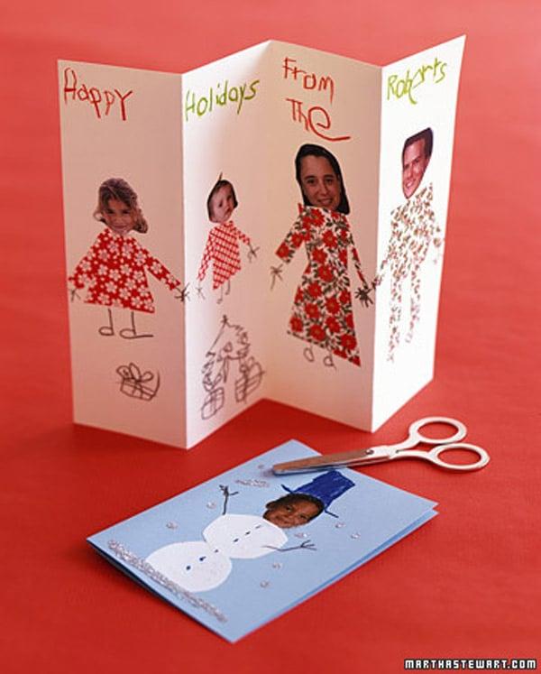 Felicitaciones de navidad personalizadas pequeocio - Como hacer una felicitacion de navidad original ...