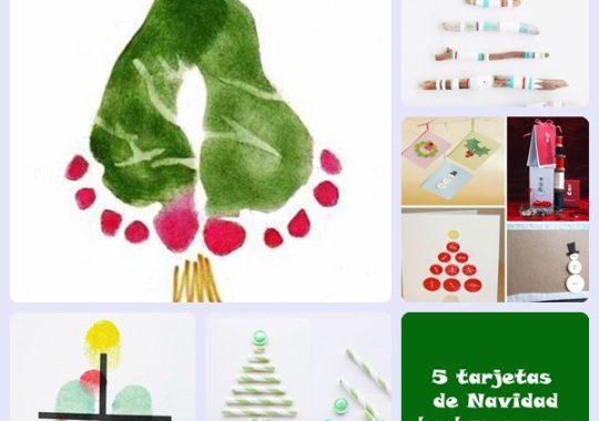 5 tarjetas de Navidad hechas a mano 1