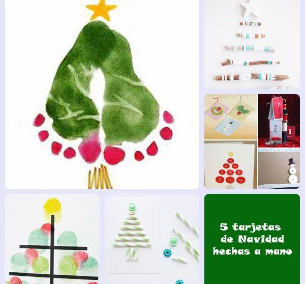 Felicitaciones De Navidad Para Postales.5 Tarjetas De Navidad Hechas A Mano Pequeocio Com