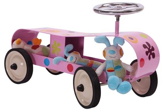 Baghera coche pedales niña
