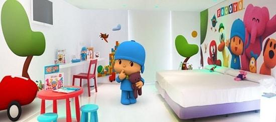 Hotel del juguete habitacion Pocoyo