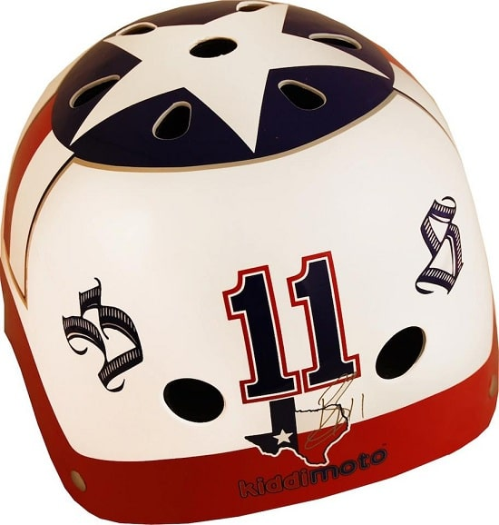 Kiddimoto casco Ben Spies