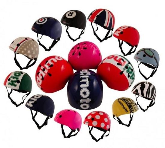 Kiddimoto colección cascos