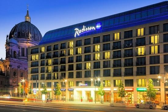 Radisson Blu hotel exterior