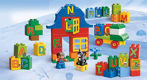 Lego duplo aprendizaje