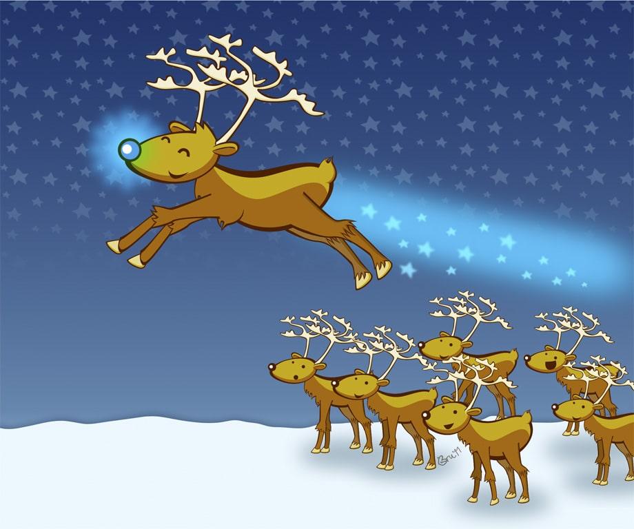 """Cuento de Navidad: """"El reno Moritz y su extraña nariz"""" 3"""