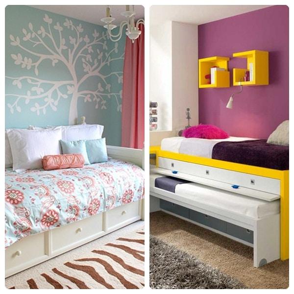 C mo decorar habitaciones infantiles peque as pequeocio - Habitacion pequena nina ...