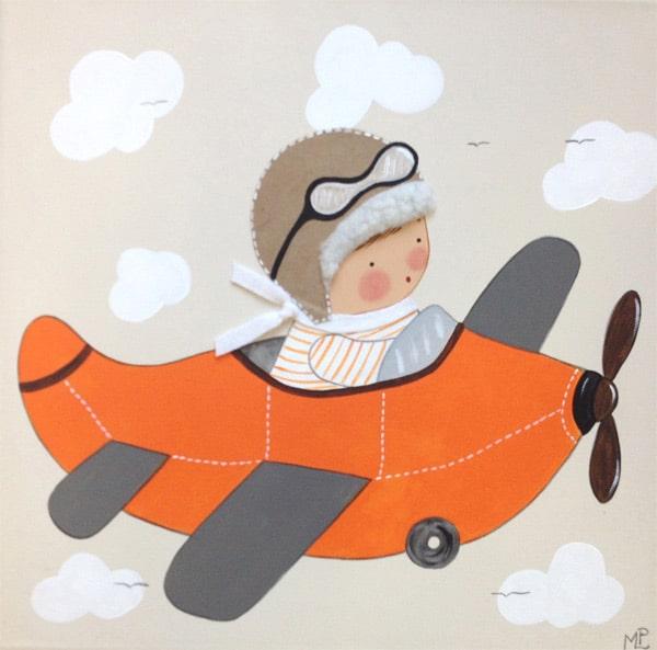 Cuadros infantiles artesanales personalizados pequeocio - Cuadros decorativos infantiles para ninos ...