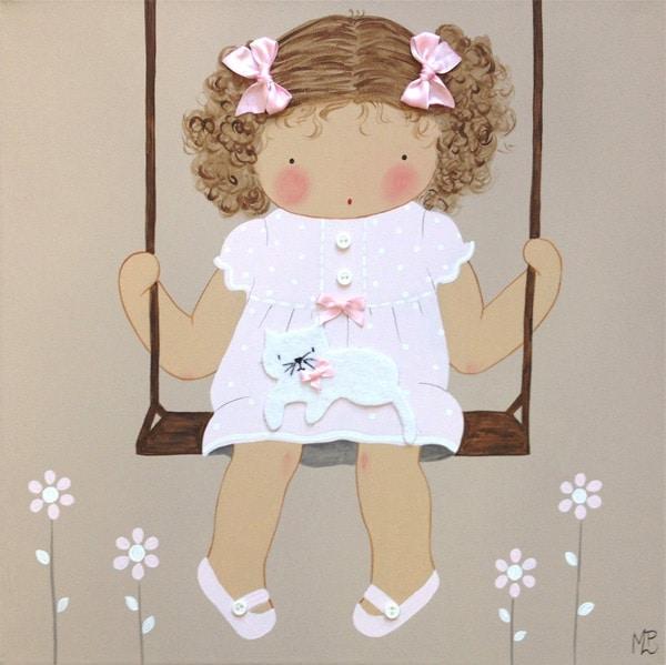Cuadros para niños personalizados y artesanales