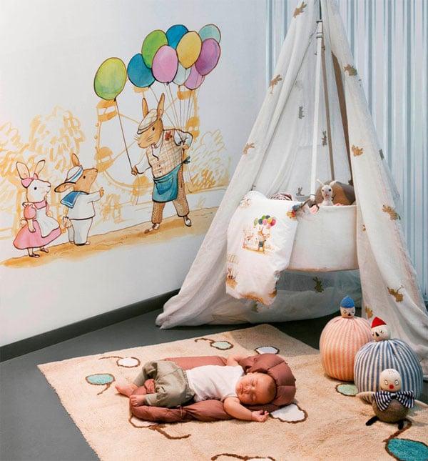 Alfombras infantiles, diseños y tendencias de decoración infantil