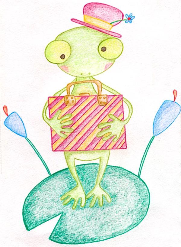 Cuento corto de la rana
