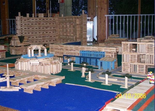 kapla juego infantil de construccin con bloques