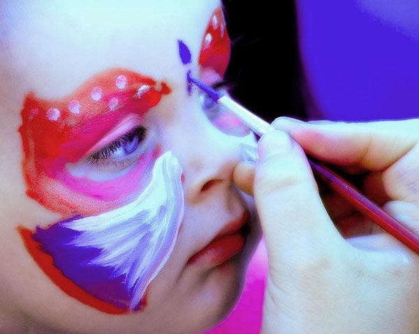 maquillaje niños halloween carnaval