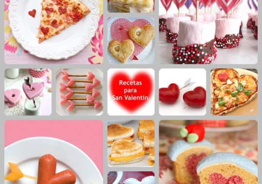 Recetas para San Valentín 1