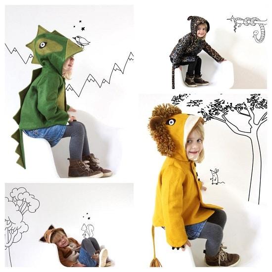 Coaters abrigos para niños