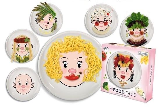 Food face mujer