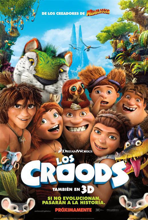 Los croods pelicula infantil