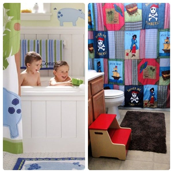 Ideas Originales Baño:12 ideas para decorar baños infantiles