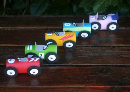 Cómo hacer unos coches de juguete caseros