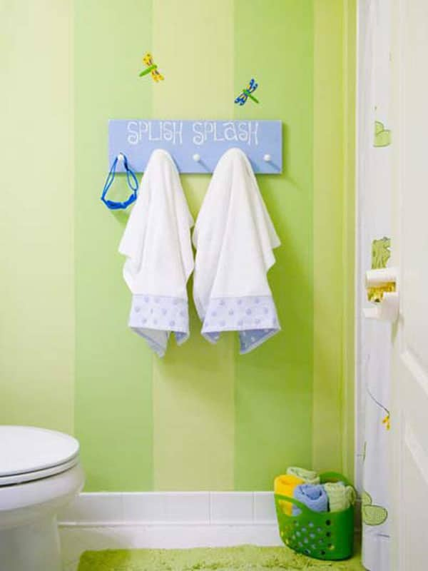 12 ideas para decorar ba os infantiles pequeocio - Ideas para decorar mi bano ...