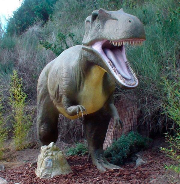 Dinosaurios Faunia Madrid