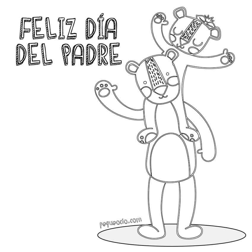 Dibujos Feliz Día del Padre