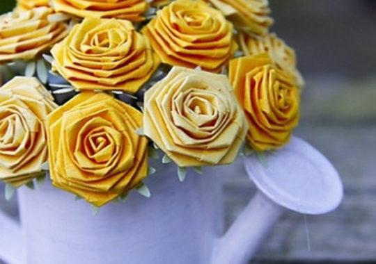 Tutorial para hacer flores de papel