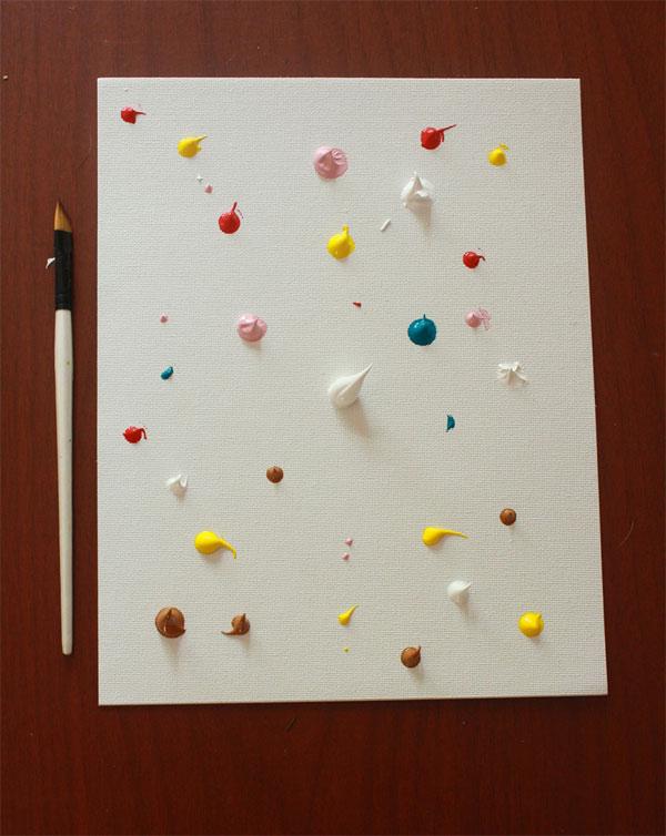 Manualidad infantil: ¡haz un cuadro de arte abstracto! - Pequeocio