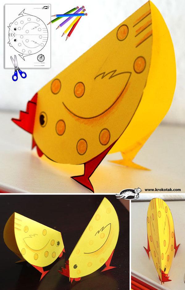 Manualidades con papel animales muy divertidos pequeocio - Manualidades pequeocio ...