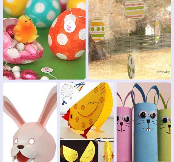 Manualidades De Pascua Para Ninos