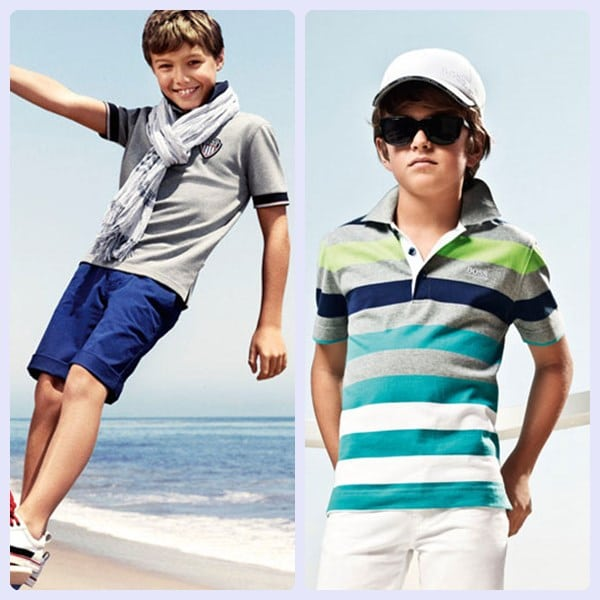 El estilo en moda infantil de Hugo Boss