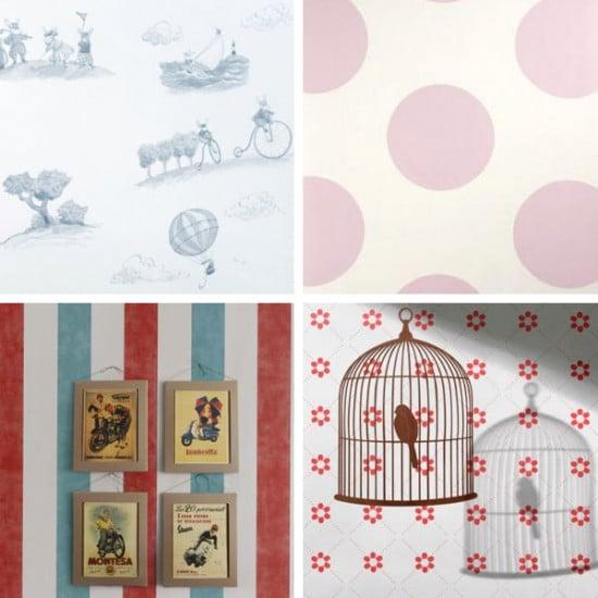 Papel pintado coordonn para habitaciones infantiles - Papel pintado para dormitorio juvenil ...