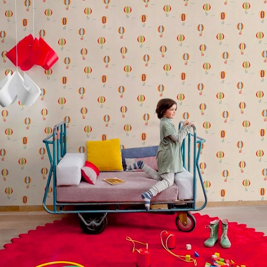 Papel pintado coordonn para habitaciones infantiles - Papeles pintados para bebes ...