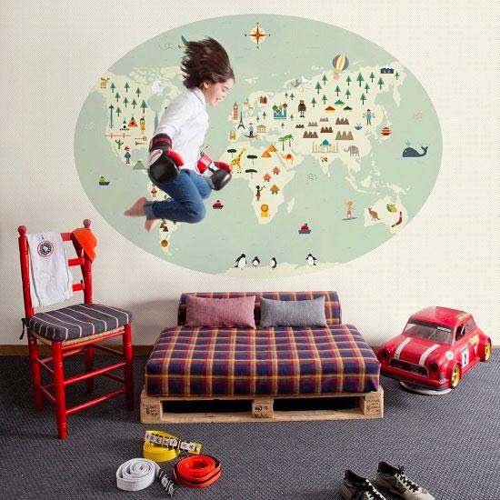 Papel pintado coordonn para habitaciones infantiles - Papel para habitaciones ...