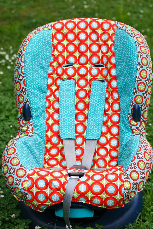C mo redecorar la silla de coche para beb s for Coches con silla para bebe