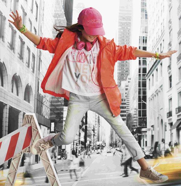 La moda infantil para primavera de DKNY