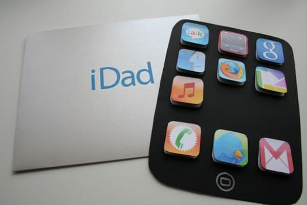 tarjeta casera dia del padre