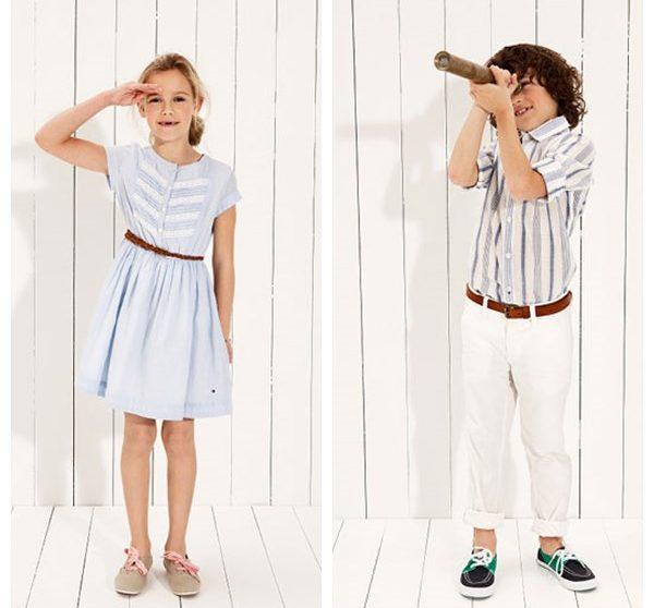 45a58942874 Moda infantil de Tommy Hilfiger para la primavera verano 2013