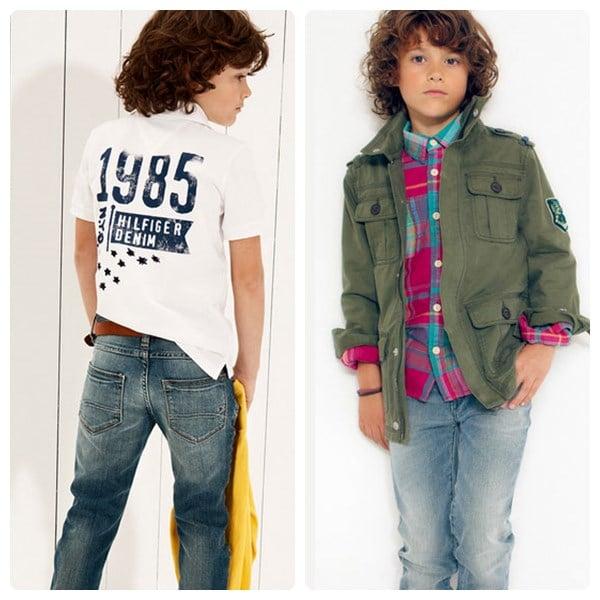 45f839c282d83 Moda infantil de Tommy Hilfiger para la primavera verano 2013