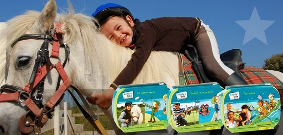 Kiddy´s Box montar a caballo