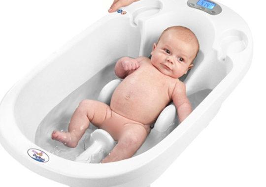 Una bañera para bebés 3 en 1