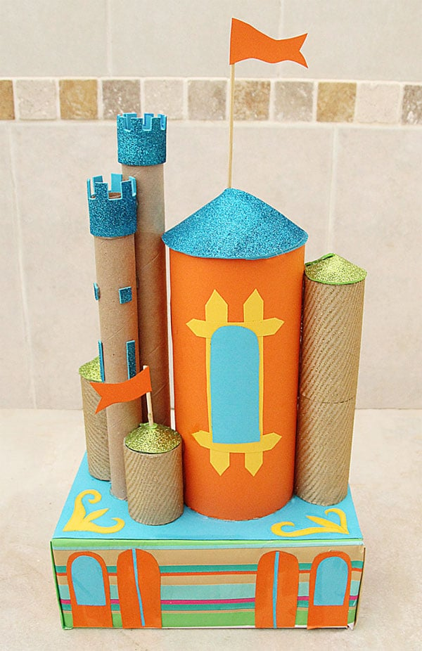 David And Goliath Craft With Tubes Project