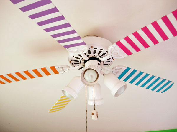 Decoraci n infantil ventiladores de colores habitaciones - Ventiladores silenciosos hogar ...