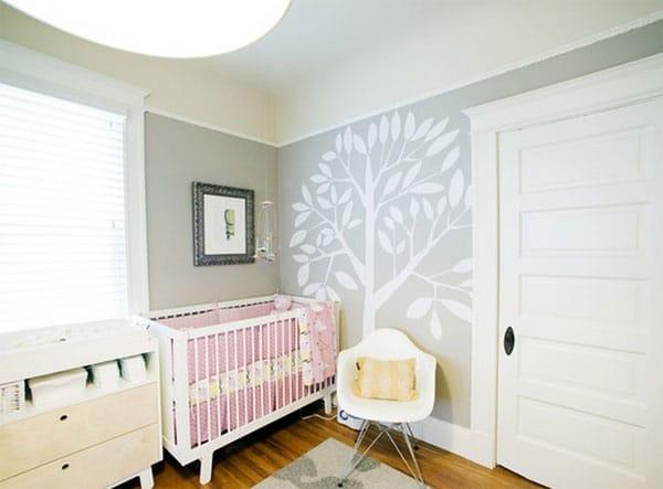 Murales infantiles de rboles decoraci n de la habitaci n - Decoracion en paredes para ninos ...