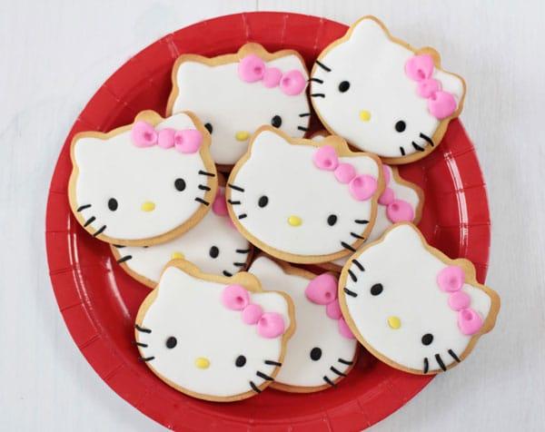 galletas cumpleaños Hello Kitty