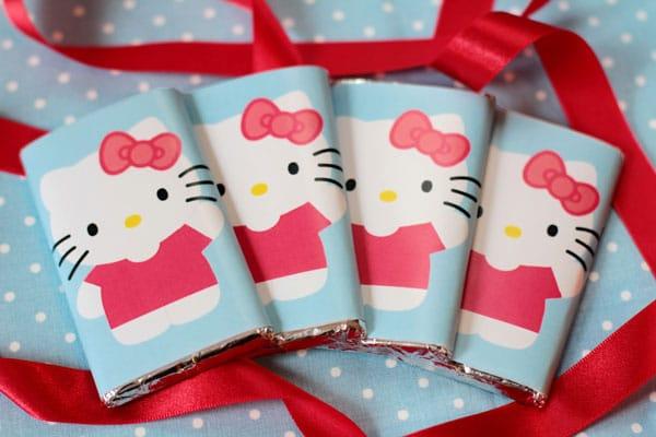 Hello Kitty cumpleaños recetas