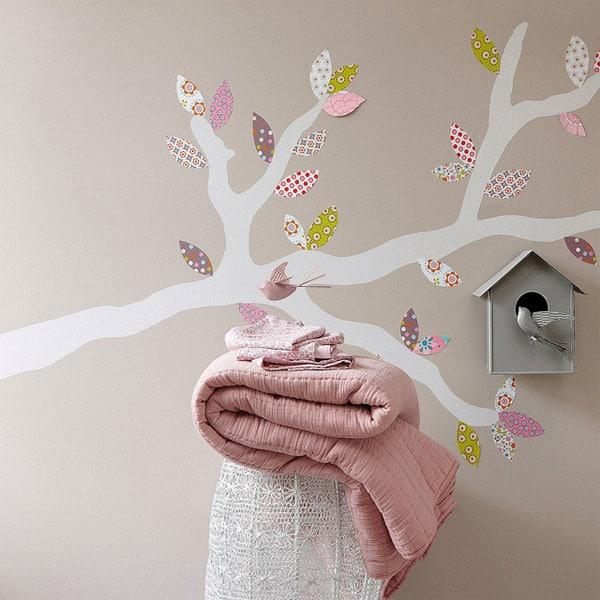 Murales infantiles de rboles decoraci n de la habitaci n for Sticker habitacion infantil