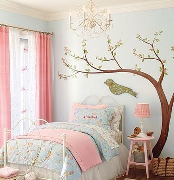Murales infantiles de rboles decoraci n de la habitaci n - Ver habitaciones infantiles ...