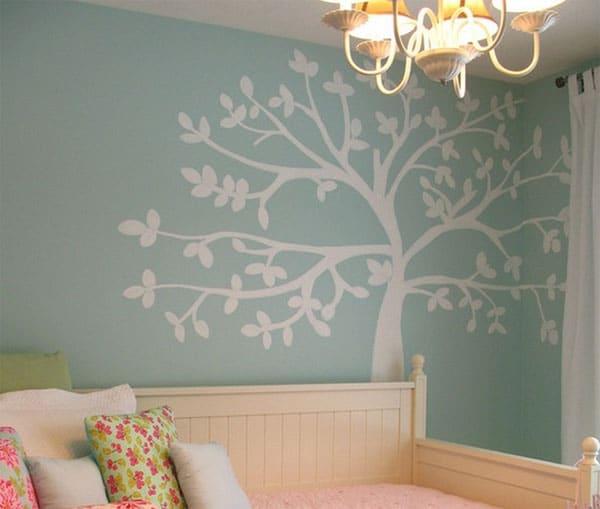 Murales infantiles de rboles decoraci n de la habitaci n - Decoracion pared dormitorio ...